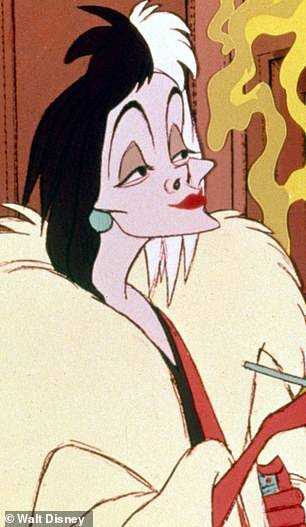 Throwback: The original 1961 animated film starred Betty Lou Gerson as the voice of Cruella